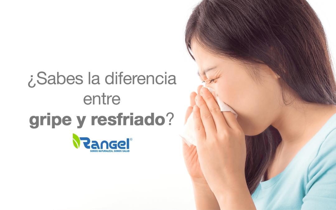 Diferencia entre gripe y resfriado, mujer estornundando