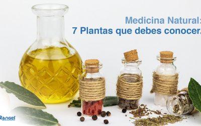 Medicina Natural: 7 Plantas que debes conocer.
