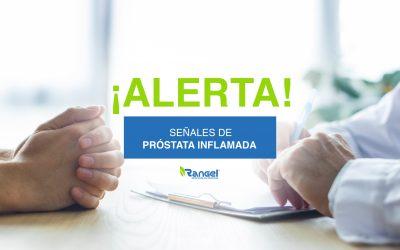 ¡Alerta! Señales de próstata inflamada
