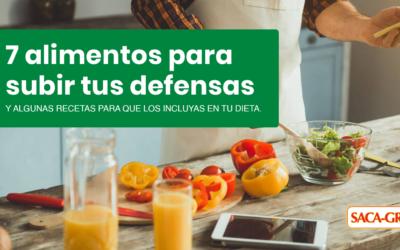 7 alimentos y algunas recetas para subir tus defensas