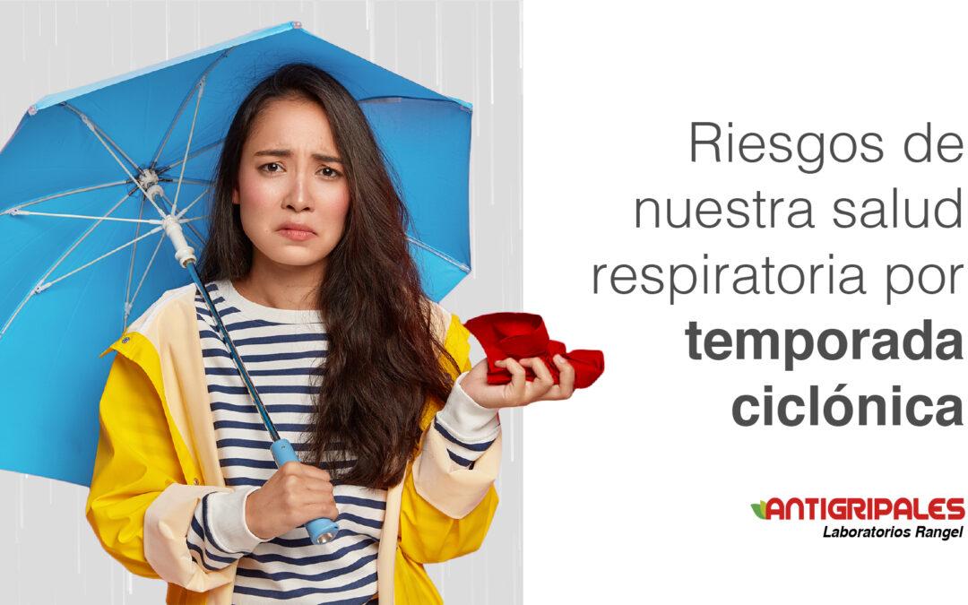 Riesgos en la salud respiratoria por temporada ciclónica